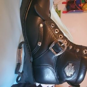 Ladies Harley Davidson Cycle riding boots